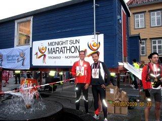 Midnight Sun Halfmarathon in Tromsø