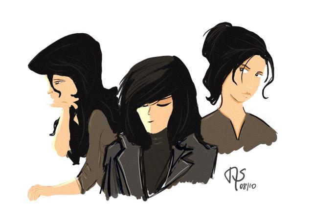 Women sketch