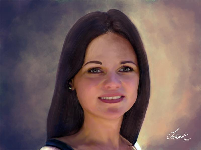 Digital painting – Portrait