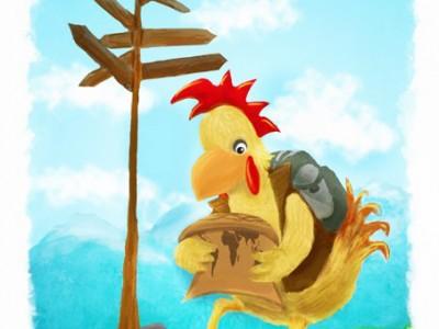 Digital_painting_Chicken_worldtour