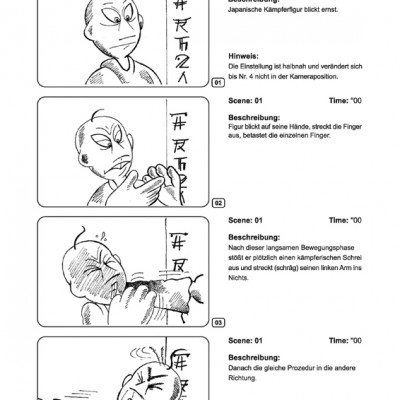 Gambare Saburou Storyboard 01